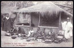 RARE !! GENT - GAND EXPOSITION 1913 - VILLAGE SENEGALAIS - LES BIJOUTIERS - Gent