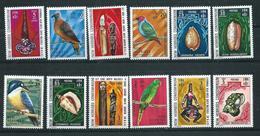 New Hebrides 1976 - YT N° 338-349 Neuf ** - Leyenda Inglesa