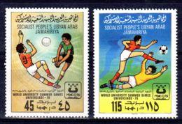 1979; Jeux D'été; Michel 752 + 753  Neuf **, Lot 50683 - Libye