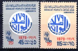 1979;TELECOM '79;  Michel 757 + 758  Neuf **, Lot 50684 - Libye