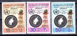 23.3.1979; Journée Mondiale Météorologique , YT 764 - 766 , Neuf **, Lot 50690 - Libye