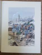 PIERRE ALBERT LEROUX - L'armée Française - Artillerie - Belle Planche Rehaussée Aux Coloris - Vers 1930 - 32 Cm * 24 Cm - Libri, Riviste & Cataloghi