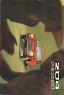 204 PEUGEOT. PUB, Année 1971. - Advertising