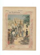 SIAM Thailande ELEPHANTS Sacré Protège-cahier Couverture 220 X 175  Bien 3 Scans - Protège-cahiers