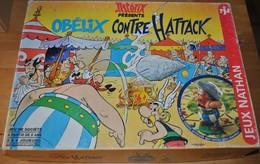 Rare Jeux De Société De 1994 Obélix Contre Hattack - Jeux De Société