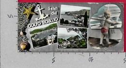 MINI CARTOLINA VG ITALIA - Saluti Dal Golfo Del TIGULLIO - Vedutine Multivue - Bimbo - 7 X 14 - ANN. 19?? - Saluti Da.../ Gruss Aus...