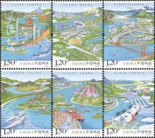 "China 2018-23 ""Yangtze River Economic Belt ""Stamp.Original,Complete Set,MNH,VF - Neufs"