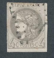 """N-156: FRANCE: Lot """"BORDEAUX"""" Oblitéré Avec N°41B (court En Haut) - 1870 Bordeaux Printing"""