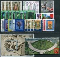 VATICANO - VATICAN - 1995 - Annata Completa - 30 Valori + 1 BF + 1 Libretto - Complete Year - ** MNH/VF - Vaticano