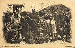 CPA - Afrique > Sénégal - Famille Lahobé - Daté 24.11 1904 - B. état - Sénégal