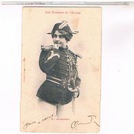 Humour Illustrateur Bergeret LES  FEMMES .DE L AVENIR. GENDARME N° 3  1902 - Bergeret