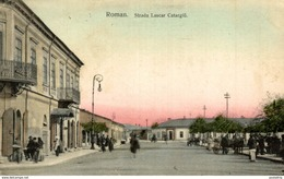 1911  ROMAN STRADA LASCAR CATARGIU   Romania Roemenië - Rumania