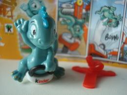 Kinder FF 264 Dino, Avec Bpz. - Familles