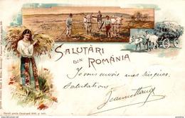 1899  SALUTARI DIN ROMANIA    RUMANIA // ROMANIA. - Rumania