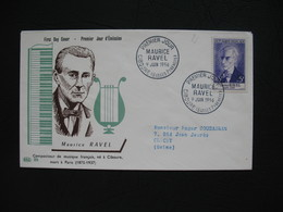 FDC  1956    N° 1071  Maurice Ravel    à Voir - 1950-1959