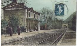 BAIX (Ardèche) La Gare /1912 - Frankreich