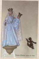 8AK3936 CANTIQUE DE MARIE NOTRE DAME EGLISE DE NIMY  2 SCANS - Vergine Maria E Madonne