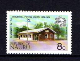NAURU    1974    Centenary  Of  U P U     8c  Nauru  Post  Office    MNH - Nauru