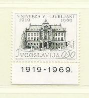 YOUGOSLAVIE  ( EU - 1268 )  1969  N° YVERT ET TELLIER  N° 1254     N** - 1945-1992 Socialist Federal Republic Of Yugoslavia