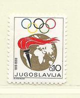 YOUGOSLAVIE  ( EU - 1270 )  1969  N° YVERT ET TELLIER  N° 1256a     N** - 1945-1992 Socialist Federal Republic Of Yugoslavia