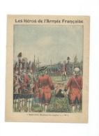 """Comte D'Auteroche """"Après-vous, Messieurs Les Anglais"""" Protège-cahier Couverture 220 X 175 Passable  3 Scans - Protège-cahiers"""