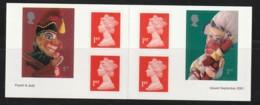 GB - CARNET N° C2272 ** (2001) Autoadhésif - Marionnettes - Carnets