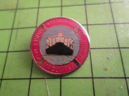 115c Pin's Pins : Rare Et Belle Qualité : THEME BATEAUX : MUSEE DE LA MAQUETTE MARINE MARINOSCOPE - Boats