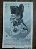 Zeer Oude Postkaart    NAPOLEON  Et Son époque Caricature Allemande - Politieke En Militaire Mannen