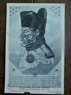 Zeer Oude Postkaart    NAPOLEON  Et Son époque Caricature Allemande - Uomini Politici E Militari