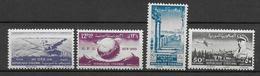 75 ANS UPU - SYRIE - 1949 - YVERT N° 32/33 + AERIENS 30/31  ** MNH - COTE = 41.5 EUR. - Syrie