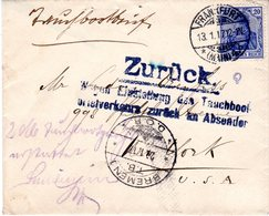 DR, Tauchbootbrief - Deutschland