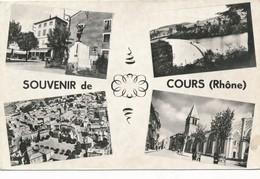 CP - France - (69) Rhône -  Cours-la-Ville - Souvenir De Cours - Cours-la-Ville