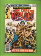John Carter Warlord Of Mars # 20 - Marvel Comics - In English - January 1979 - TBE - Marvel