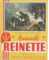 Buvard ( Biscotte Reinette - Napoléon A Bautzen ) - Biscottes