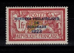 YV 182 N* Charniere Tres Propre, Gomme Bien Entendu D'origine, Tres Bien Centré Et Frais Cote 575 Euros + 50% - France