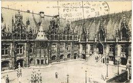 DAGUIN DATE EXPO 1929 DE MONTARGIS  EN ARRIVEE SUR CPA - Mechanische Stempels (varia)