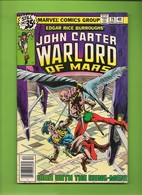 John Carter Warlord Of Mars # 19 - Marvel Comics - In English - December 1978 - TBE - Marvel