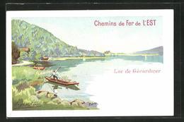 AK Lac De Gerardmer, Vue Generale - Publicité