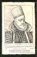 Postal Portrait Von Philippe II. Von Spanien, Dit Le Prudent - Familias Reales