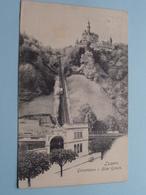 Gütschbahn V. Hôtel Gütsch Luzern ( E. Goetz - N° 2144 ) Anno 1906 ( Voir Photo Svp ) ! - LU Lucerne