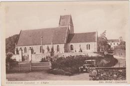 CARTE POSTALE   COURVAUDON 14  L'église - Autres Communes