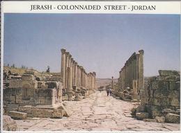 JERASH - COLONNADED STREET  JORDAN   USED NICE STAMP - Jordanie