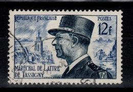 YV 982 Oblitere De Lattre De Tassigny - France