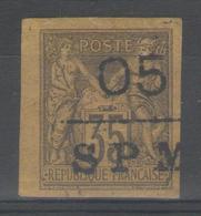 SAINT-PIERRE Et Miquelon:  N°9 * (signé BRUN)        - Cote 200€ - - Neufs