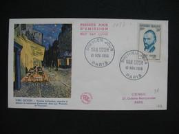 FDC  1956    N° 1087  Vincent Van Gogh     à Voir - 1950-1959
