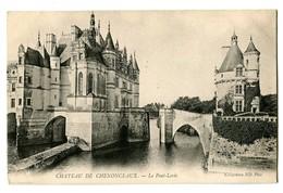 CPA 37 Indre Et Loire Château De Chenonceaux Le Pont-Levis - Chenonceaux