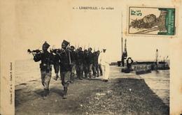 CPA - Afrique > Gabon - LIBREVILLE - La Milice - Daté 1916 - TB. état - Gabon