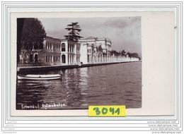 9527  POSTCARD AK CARTE PHOTO 3041 ISTANBUL DOLMA BAGTCHE - Turchia