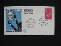 FDC  1957    N° 1092  Victor Schoelcher    à Voir - FDC