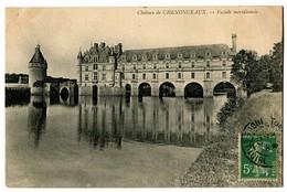 CPA 37 Indre Et Loire Château De Chenonceaux Façade Méridionale - Chenonceaux